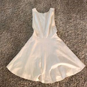 AMERICAN Apparel White Plunge Dress  M
